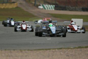 World © Octane Photographic Ltd. 2013 Protyre Formula Renault Championship – Donington Park, Sunday 14th April 2013 - Race 2. Joe Ghanem - MTECH Lite. Digital ref : 0635lw1d3506
