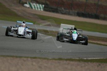 World © Octane Photographic Ltd. 2013 Protyre Formula Renault Championship – Donington Park, Sunday 14th April 2013 - Race 2. Jorge Cevallos - MGR Motorsport. Digital ref : 0635lw1d3730