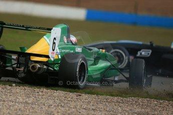 World © Octane Photographic Ltd. 2013 Protyre Formula Renault Championship – Donington Park, Sunday 14th April 2013 - Race 2. Weiron Tan - Fortec Motorsports, Caterham Academy. Digital ref : 0635lw1d3792