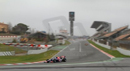 World © Octane Photographic Ltd. GP2 Winter testing, Barcelona, Circuit de Catalunya, 5th March 2013. Carlin – Jolyon Palmer. Digital Ref: 0585cb7d1278