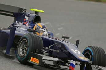 World © Octane Photographic Ltd. GP2 Winter testing, Circuit de Catalunya, 5th March 2013. Russian Time, Tom Dillmann. Digital Ref: 0585lw1d1832