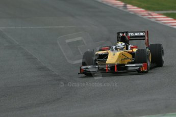 World © Octane Photographic Ltd. GP2 Winter testing, Barcelona, Circuit de Catalunya, 5th March 2013. DAMS – Marcus Ericsson. Digital Ref: 0585lw1d1916
