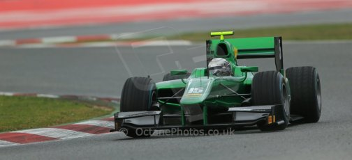 World © Octane Photographic Ltd. GP2 Winter testing, Barcelona, Circuit de Catalunya, 5th March 2013. Caterham Racing – Ma Qing Hua. Digital Ref: 0585lw1d2036