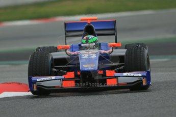 World © Octane Photographic Ltd. GP2 Winter testing, Barcelona, Circuit de Catalunya, 5th March 2013. Hilmer Motorsport – Conor Daly. Digital Ref: 0585lw1d2113