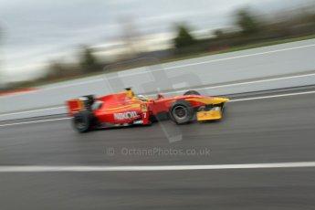 World © Octane Photographic Ltd. GP2 Winter testing, Barcelona, Circuit de Catalunya, 6th March 2013. Racing Engineering – Julien Leal. Digital Ref: 0586lw7d1630