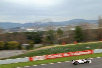 World © Octane Photographic Ltd. GP2 Winter testing, Barcelona, Circuit de Catalunya, 6th March 2013. Rapax – Simon Trummer. Digital Ref: 0586lw7d1716