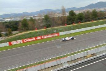 World © Octane Photographic Ltd. GP2 Winter testing, Barcelona, Circuit de Catalunya, 6th March 2013. Trident Racing – Rodolfo Gonzalez. Digital Ref: 0586lw7d1735