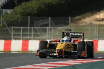 World © Octane Photographic Ltd. GP2 Winter testing, Barcelona, Circuit de Catalunya, 7th March 2013. DAMS – Marcus Ericsson. Digital Ref: 0587lw1d3325