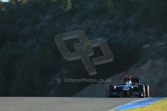 World © Octane Photographic Ltd. GP2 Winter testing, Jerez, 26th February 2013. Digital Ref: 0580cb1d5753