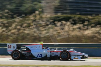 World © Octane Photographic Ltd. GP2 Winter testing, Jerez, 26th February 2013. Rapax – Simon Trummer. Digital Ref: 0580cb1d6136