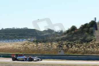 World © Octane Photographic Ltd. GP2 Winter testing, Jerez, 26th February 2013. Racing Engineering – Julien Leal. Digital Ref: 0580cb1d6143