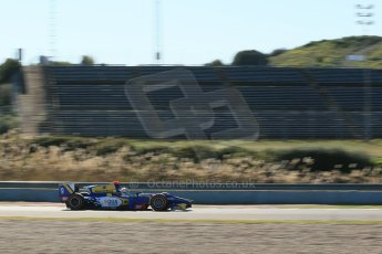 World © Octane Photographic Ltd. GP2 Winter testing, Jerez, 26th February 2013. Carlin – Felipe Nasr. Digital Ref: 0580cb1d6157