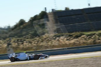 World © Octane Photographic Ltd. GP2 Winter testing, Jerez, 26th February 2013. Trident Racing – . Digital Ref: 0580cb1d6189