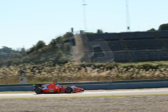 World © Octane Photographic Ltd. GP2 Winter testing, Jerez, 26th February 2013. Arden – Johnny Cecotto. Digital Ref: 0580cb1d6245