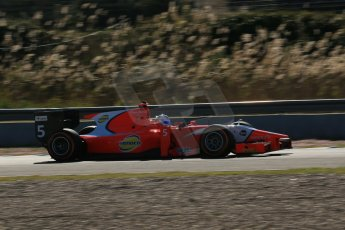 World © Octane Photographic Ltd. GP2 Winter testing, Jerez, 26th February 2013. Arden – Johnny Cecotto. Digital Ref: 0580cb1d6274