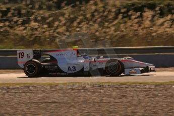 World © Octane Photographic Ltd. GP2 Winter testing, Jerez, 26th February 2013. Rapax – Simon Trummer. Digital Ref: 0580cb1d6287