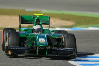 World © Octane Photographic Ltd. GP2 Winter testing, Jerez, 26th February 2013. Caterham Racing – . Digital Ref: 0580cb1d6444