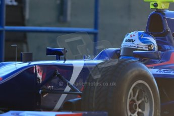 World © Octane Photographic Ltd. GP2 Winter testing, Jerez, 26th February 2013. Carlin – Jolyon Palmer. Digital Ref: 0580lw1d5525