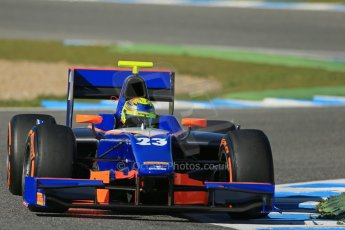 World © Octane Photographic Ltd. GP2 Winter testing, Jerez, 26th February 2013. Hilmer Motorsport. Digital Ref: 0580lw1d6555