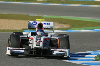 World © Octane Photographic Ltd. GP2 Winter testing, Jerez, 26th February 2013. Rapax – Simon Trummer. Digital Ref: 0580lw1d6607