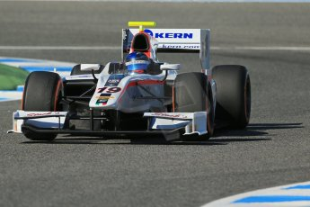 World © Octane Photographic Ltd. GP2 Winter testing, Jerez, 26th February 2013. Rapax – Simon Trummer. Digital Ref: 0580lw1d6679