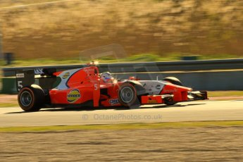World © Octane Photographic Ltd. GP2 Winter testing, Jerez, 26th February 2013. Arden – Johnny Cecotto. Digital Ref: 0580lw7d0044