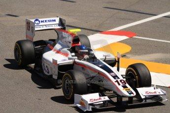 World © Octane Photographic Ltd. GP2 Monaco GP, Monte Carlo, Thursday 23rd May 2013. Practice and Qualifying. Simon Trummer – Rapax. Digital Ref : 0693cb7d0850