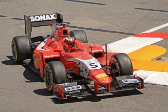 World © Octane Photographic Ltd. GP2 Monaco GP, Monte Carlo, Thursday 23rd May 2013. Practice and Qualifying. Johnny Cecotto – Arden International. Digital Ref : 0693cb7d0871