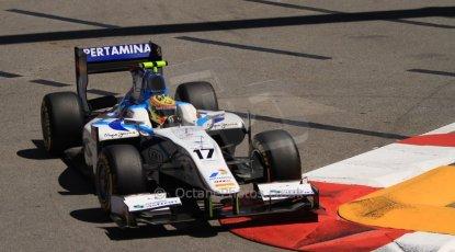 World © Octane Photographic Ltd. GP2 Monaco GP, Monte Carlo, Thursday 23rd May 2013. Practice and Qualifying. Rio Haryanto - Barwa Addax Team. Digital Ref : 0693cb7d0879