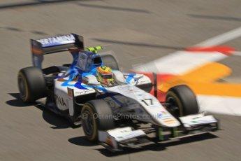 World © Octane Photographic Ltd. GP2 Monaco GP, Monte Carlo, Thursday 23rd May 2013. Practice and Qualifying. Rio Haryanto - Barwa Addax Team. Digital Ref : 0693cb7d0914