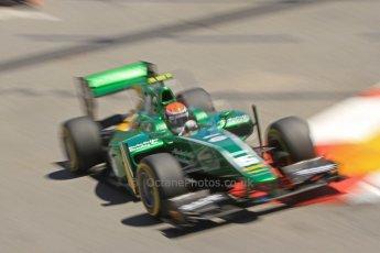 World © Octane Photographic Ltd. GP2 Monaco GP, Monte Carlo, Thursday 23rd May 2013. Practice and Qualifying. Alexander Rossi – EQ8 Caterham Racing. Digital Ref : 0693cb7d0934