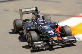 World © Octane Photographic Ltd. GP2 Monaco GP, Monte Carlo, Thursday 23rd May 2013. Practice and Qualifying. Rene Binder - Venezuela GP Lazarus. Digital Ref : 0693cb7d0946