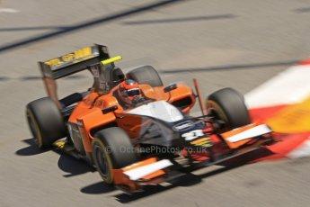 World © Octane Photographic Ltd. GP2 Monaco GP, Monte Carlo, Thursday 23rd May 2013. Practice and Qualifying. Daniel De Jong - MP Motorsport. Digital Ref : 0693cb7d0951