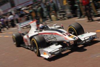 World © Octane Photographic Ltd. GP2 Monaco GP, Monte Carlo, Thursday 23rd May 2013. Practice and Qualifying. Stefano Coletti – Rapax. Digital Ref : 0693cb7d0979