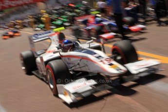 World © Octane Photographic Ltd. GP2 Monaco GP, Monte Carlo, Thursday 23rd May 2013. Practice and Qualifying. Simon Trummer – Rapax. Digital Ref : 0693cb7d1026