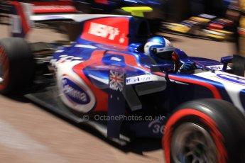 World © Octane Photographic Ltd. GP2 Monaco GP, Monte Carlo, Thursday 23rd May 2013. Practice and Qualifying. Jolyon Palmer - Carlin. Digital Ref : 0693cb7d1034