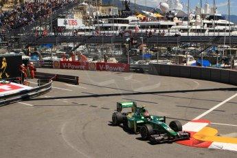 World © Octane Photographic Ltd. GP2 Monaco GP, Monte Carlo, Thursday 23rd May 2013. Practice and Qualifying. Alexander Rossi – EQ8 Caterham Racing. Digital Ref : 0693cb7d1047