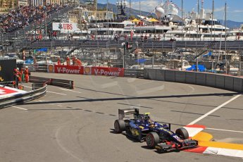World © Octane Photographic Ltd. GP2 Monaco GP, Monte Carlo, Thursday 23rd May 2013. Practice and Qualifying. Tom Dillmann– Russian TIME. Digital Ref : 0693cb7d1048