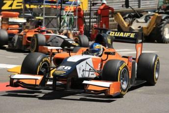 World © Octane Photographic Ltd. GP2 Monaco GP, Monte Carlo, Thursday 23rd May 2013. Practice and Qualifying. Adrian Quaife-Hobbs -  MP Motorsport. Digital Ref : 0693lw1d7400