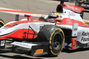 World © Octane Photographic Ltd. GP2 Monaco GP, Monte Carlo, Thursday 23rd May 2013. Practice and Qualifying. James Calado – ART Grand Prix. Digital Ref : 0693lw1d7439
