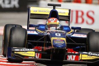 World © Octane Photographic Ltd. GP2 Monaco GP, Monte Carlo, Thursday 23rd May 2013. Practice and Qualifying. Felipe Nasr - Carlin. Digital Ref : 0693lw7d0568
