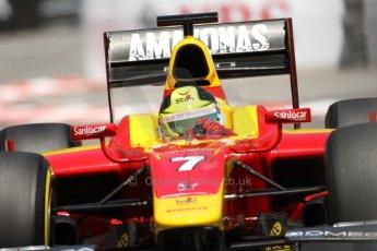 World © Octane Photographic Ltd. GP2 Monaco GP, Monte Carlo, Thursday 23rd May 2013. Practice and Qualifying. Julián Leal - Racing Engineering. Digital Ref: 0693lw7d0575