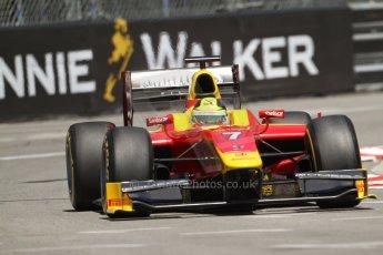 World © Octane Photographic Ltd. GP2 Monaco GP, Monte Carlo, Thursday 23rd May 2013. Practice and Qualifying. Julián Leal - Racing Engineering. Digital Ref: 0693lw7d0619