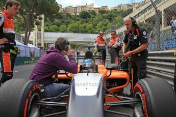 World © Octane Photographic Ltd. GP2 Monaco GP, Monte Carlo, Friday 24th May. Feature Race grid. Adrian Quaife-Hobbs -  MP Motorsport. Digital Ref : 0697cb7d1648