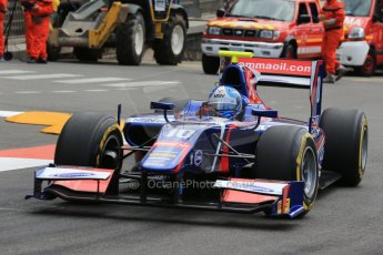 World © Octane Photographic Ltd. GP2 Monaco GP, Monte Carlo, Friday 24th May. Feature Race out lap. Jolyon Palmer - Carlin. Digital Ref : 0697lw1d8569