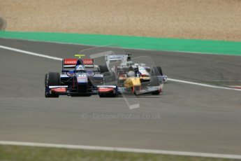 World © Octane Photographic Ltd. GP2 German GP, Nurburgring, 5th July 2013. Practice. Jolyon Palmer - Carlin. Digital Ref : 0740lw1d3953