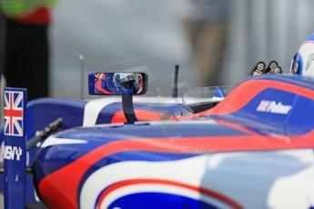 World © Octane Photographic Ltd. GP2 German GP, Nurburgring, 6th July 2013. Race 1. Jolyon Palmer - Carlin. Digital Ref : 0746lw1d7472