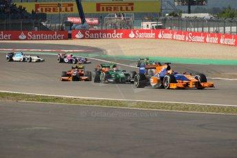 World © Octane Photographic Ltd. GP2 German GP, Nurburgring, Sunday 7th July 2013. Race 2. Robin Frijns - Hilmer Motorsport. Digital Ref : 0747lw1d4728