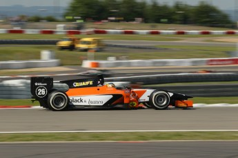 World © Octane Photographic Ltd. GP2 German GP, Nurburgring, Sunday 7th July 2013. Race 2. Adrian Quaife-Hobbs -  MP Motorsport. Digital Ref : 0747lw1d4769