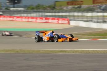 World © Octane Photographic Ltd. GP2 German GP, Nurburgring, Sunday 7th July 2013. Race 2. Jon Lancaster - Hilmer Motorsport. Digital Ref : 0747lw1d4778